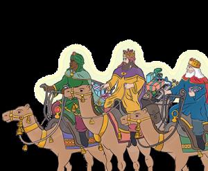 Los Reyes Magos escriben a los pequeños