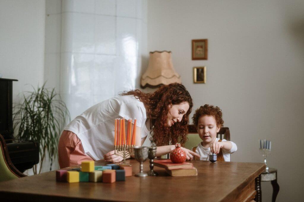 Teletrabajar con niños en casa